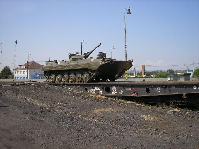 Výcvik vojsk v preprave po železnici u 2.mechanizovanej brigády