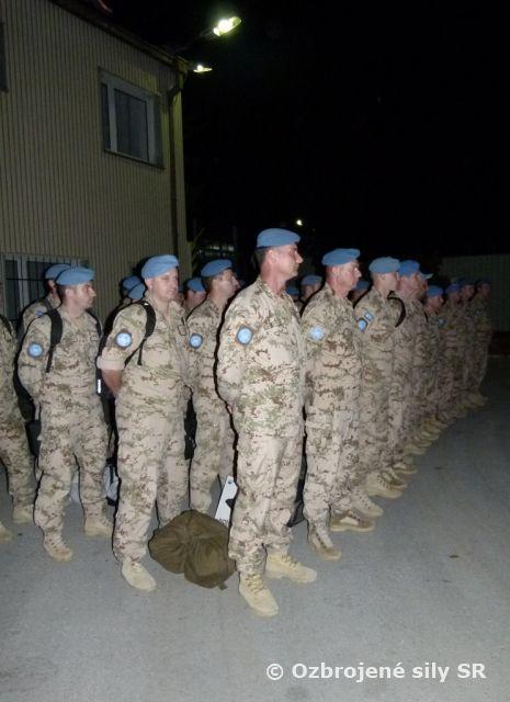 Vitajte doma, vojaci - aktualizované